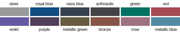 loodschort voor tandartspatiënten - kleuren