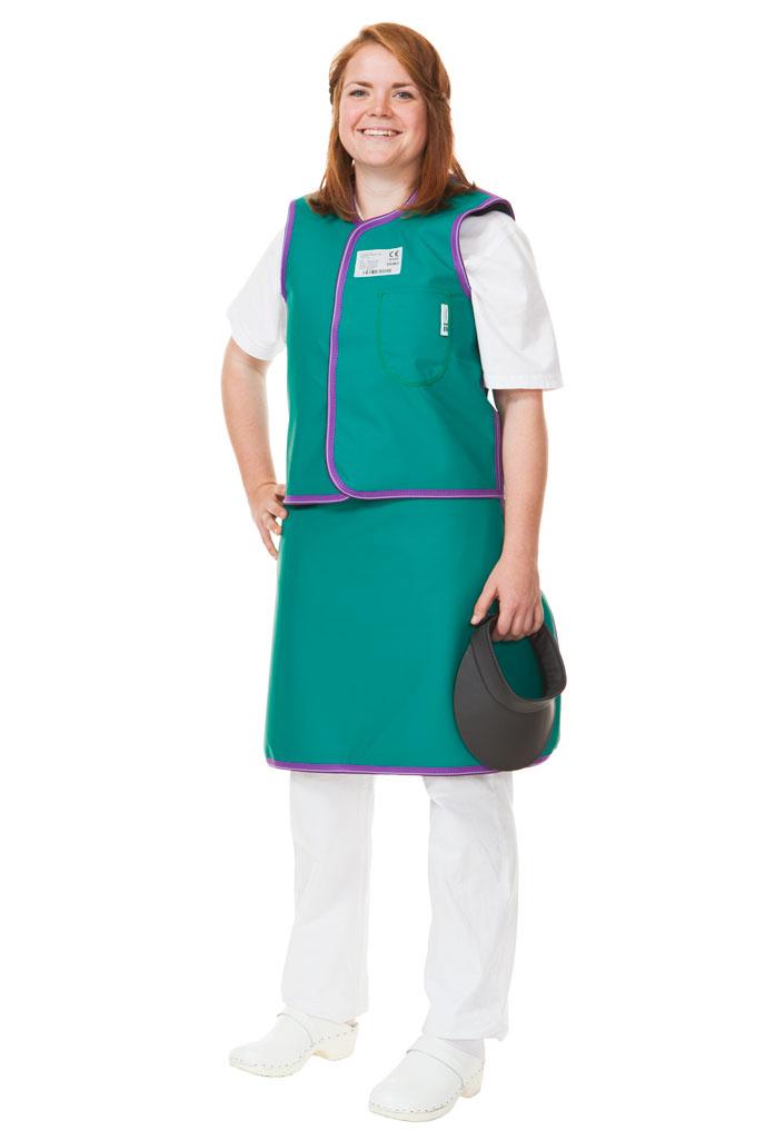 CPA Skirt & Vest Wrap stralingsbeschermende kleding